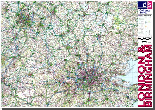 Ready-to-print maps of Britain from Ordnance Survey (PDF, A0